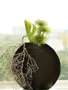 ... example of Ikebana, the Japanese art of flower arrangement