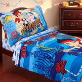 Found it at Wayfair - Jake and the Neverland Pirates 4 Piece Toddler Bedding Set