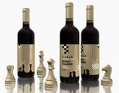 Label Design Vancouver / Chess + Wine and Design Labels Wine Labels, Media Design, Label Design, Chess, New Work, Vancouver, Barcelona, Behance, Bottle