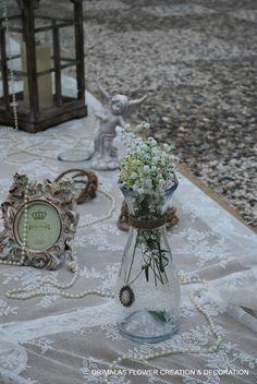 ρομαντικος στολισμος γαμου με αμφορεις Table Decorations, Tent, Wedding, Home Decor, Outdoor, Ideas, Valentines Day Weddings, Outdoors, Store