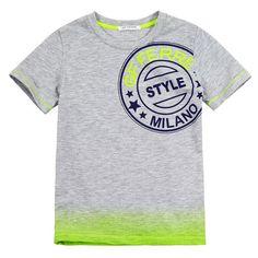 GF Ferré T-shirts : Children T-shirts Baby Kids Wear, Boys Wear, Toddler Outfits, Boy Outfits, T Shirt Fonts, Baby Boy Dress, Tie Dye T Shirts, Kids Prints, Dip Dye