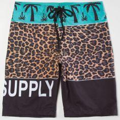 BLVD SUPPLY Wild Mens Boardshorts 216853957   Boardshorts   Tillys.com