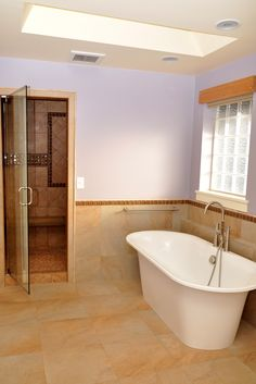 Porcelain Bathroom Floor www.alltileinc.com Ceramic Tiles, Home, Heat, Bathroom Flooring, Flooring, Laminates, Clawfoot Bathtub, Heated Floors, Floor Coverings