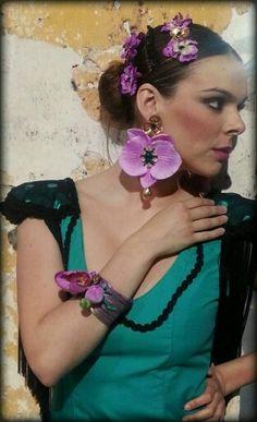 Complementos flamenca, Diseñadora Marta Sanjosé