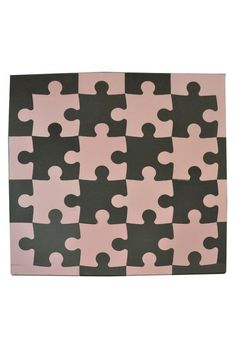 Puzzle Playmate Set - Tadpoles Haute Look - only 20.00 for 50 x 50 pink and brown