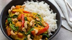 Nadia Lim's red lentil and coconut dhal with kaffir lime and lemongrass - Combining yellow curry paste with fragrant flavours of kaffir lime and lemongrass results in a delicious, flavoursome curry sauce.