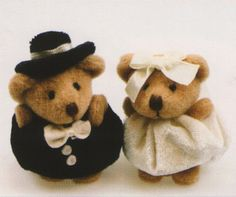POLYMER CLAY Hugging Personalized Teddy Bears Wedding Cake Topper Or Centerpiece Keepsake Bridal Shower Anniversary