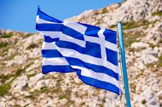glag greek Greek Flag, Karpathos, Greek Beauty, Greece Islands, House Colors, The Incredibles, Colours, Outdoor Decor, Counting