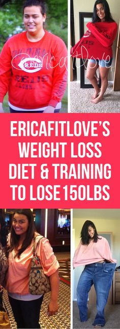 EricaFitLove's (Erico Lugo) Weight Loss Diet, Meals & Training For Losing 68KG!