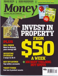 Check out my cover story and photo on smart property for How to get money to buy land