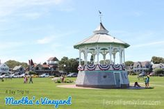 A Day Trip to Martha's Vineyard - Oaks Bluff, Martha's Vineyard, Cape Cod, MA