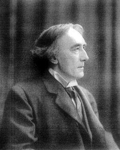 Sir Henry Irving (1838-1905), uno de los grandes actores shakespearianos británicos del siglo XIX y fundador del Drury Lane Theater (Public Domain) #miercolesretratos #EnciclopediaLibre