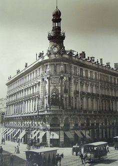 Edificio de La Equitativa, hacia 1895  Mariano Moreno García. Archivo Moreno (Madrid)