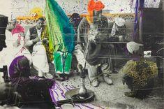 Sigmar Polke (Pop art american) Untitled (Quetta,Pakistan) 1974-1978