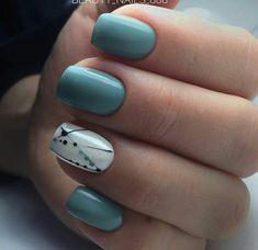 80 + elegante quadratische Nail Art Designs - nail polish - - The most beautiful nail designs Square Acrylic Nails, Square Nails, Acrylic Nail Designs, Green Nail Designs, Square Nail Designs, Nail Designs Spring, Spring Nail Art, Spring Nails, Summer Nails
