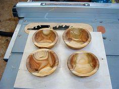 Apricot wood bowls