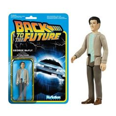 Funko Back to the Future George McFly ReAction 3 3/4-Inch Retro Action Figure