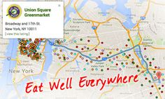 Search tool for #organic #food in #NYC.
