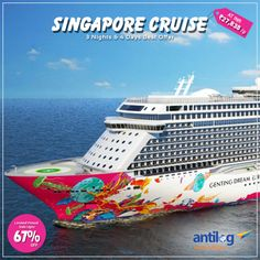 Best deal on #Singapore #Cruise #Holioday #Package