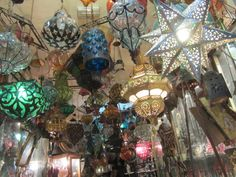 tunisian lamps