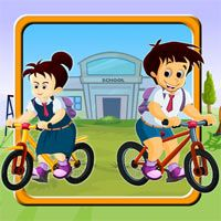 School Race- It is an ultimate funny game. Participate in race with your school mates and Win the game.