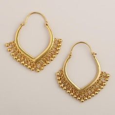 Indian Jewelry Earrings, Jewelry Design Earrings, Gold Earrings Designs, Gold Jewellery Design, Dangle Earrings, Gold Designs, Jewelery, Mens Gold Bracelets, Gold Bracelet For Women
