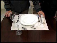 arrumar a mesa