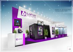 Exhibition stands on Behance
