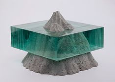 """Ben Young is a self-taught artist from New Zealand who has been creating glass sculptures for over 10 years.  """"Though overwhelming in their apparent simplicity, what the common eye won't realise is that each of Young's sculptures are hand drawn, hand cut and handcrafted, layer on layer to create the end product. There is no high-tech equipment involved but the complexity comes from the planning phase, which Young describes as 'a lot of work'. Internally, he works out what he wants to mak..."""