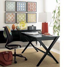 Spotlight Ebony Desk