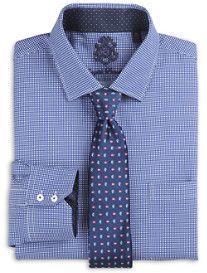 English Laundry™ Small Houndstooth Dress Shirt