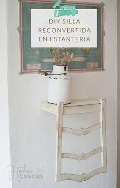 Respaldo de silla utilizado como mueble para ba o y for Colgador toalla bano