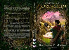 Forestium - Book cover by Mihaela-V on DeviantArt
