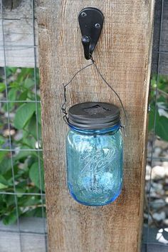 How to turn your mason jars into solar lights!