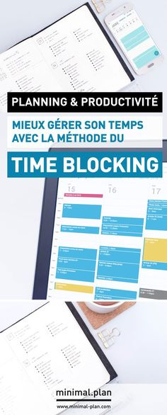 Take your productivity to the next level and learn how to better manage your time with the time blocking technique! Time blocking can easily be combined with any planner such as bullet journals. / Productivity tips, time management, time blocking, time bl Time Management Techniques, Effective Time Management, Time Management Strategies, Management Tips, Time Management Planner, Knowledge Management, Inbound Marketing, Content Marketing, Business Coach