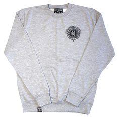 Unisex Grey Sweater - Crewneck - Wanderlust - Grace Neutral by HouseofJunkClothing on Etsy Grace Neutral, Streetwear Brands, Grey Sweater, Street Wear, Wanderlust, Crew Neck, Unisex, Trending Outfits, Compass