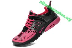 Nike Air Presto Woven Light Black Rose Pink