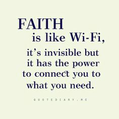 Faith we are connected love