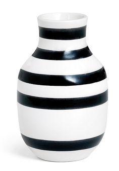 Amazon|Kahler ケーラーOmaggio Vase オマジオ フラワーベース(S) ブラック H:12.5cm|フラワーベース・花器 オンライン通販