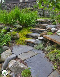We specialize in Goshen Stone work and Hardscapes. Patios, walkways, stairs & stonewalls. We also enjoy working with Bluestone, brick, fieldstone & granite.