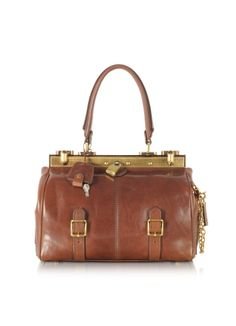 The Bridge Icons Alyce Small Leather Satchel. Love this one!