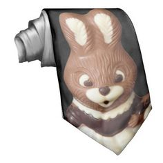 This #3D #Chocolate #Easter #Bunny #Tie design is available in variety of products. Text adding is optional.