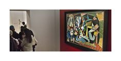 """At 179 million, the most expensive painting every sold. Picasso's """"women of Algiers"""""""
