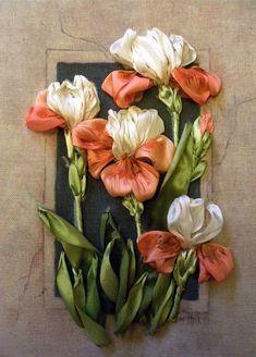 Вышивка атласными лентами от Светланы Герасимовой