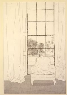 'HOME' FROM ILLUSTRATIONS FOR SIX FAIRY TALES FROM THE BROTHERS GRIMM 1969, David Hockney