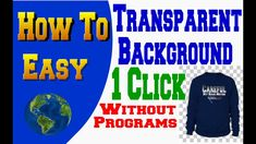 How To Cut an image out Remove & Delete a Background By 1 Click Without Any Programs ( FREE ) Easy, Youtube, How To Make, Free, Youtubers, Youtube Movies