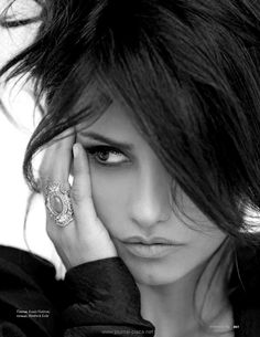 Gorgeous Penelope Cruz . . . individual and very alluring.