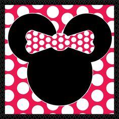 Scrapdiggity: FREEBIE: Minnie Mouse Printable