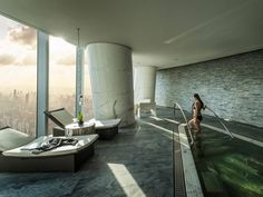Located in the city centre, Four Seasons Hotel Guangzhou boasts an indoor pool, 7 dining options and hot tubs. Stone Columns, Interior Rendering, Interior Design, Luxury Spa, Four Seasons Hotel, Paradis, Pool Houses, Guangzhou, Hotel Spa