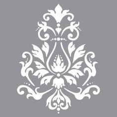 Brocade Motif 12x12 Stencil..549